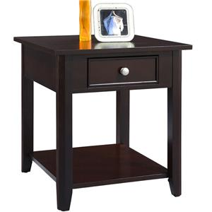Winners Only Metro  End Table