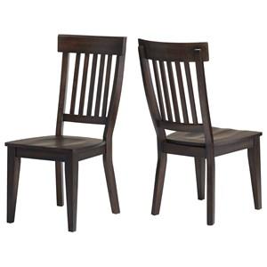 Rake Back Side Chair