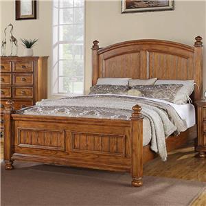 Winners Only Newport Queen Panel Bed