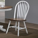 Winners Only Pacifica Arrow Back Side Chair - Item Number: DP519S