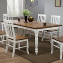 """Winners Only Pacifica 78"""" Dining Table - Item Number: DP54278"""
