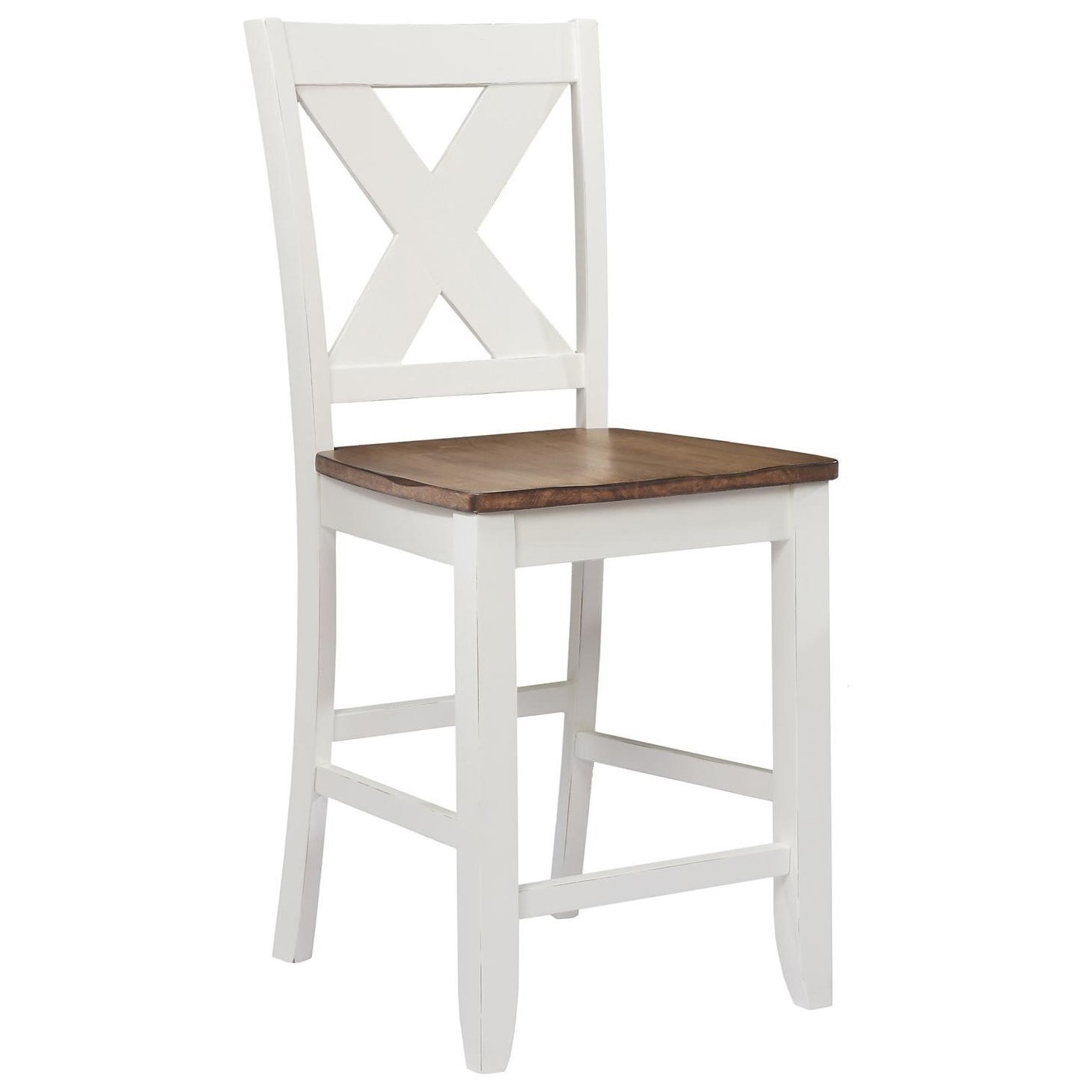 Sensational Pacifica X Back Counter Height Barstool Cjindustries Chair Design For Home Cjindustriesco