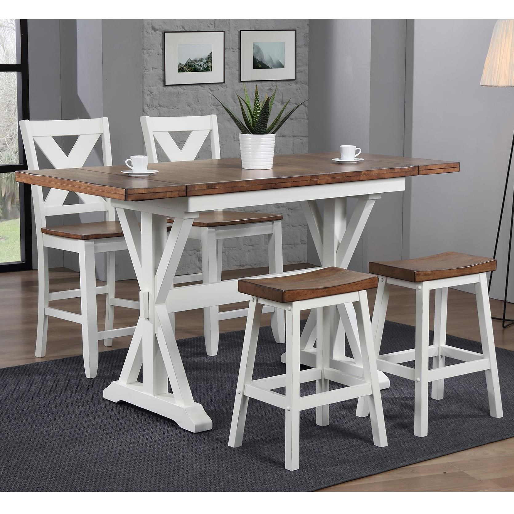 Where Is Winners Only Furniture Made: Winners Only Pacifica Counter Height Dining Set With Miss