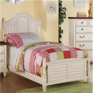 Winners Only Palm Beach Full Panel Bed
