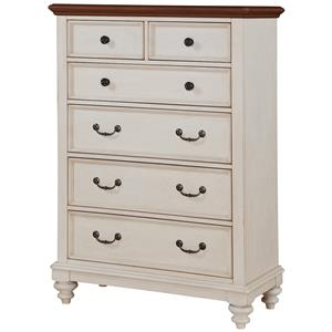 Winners Only Palm Beach Drawer Chest