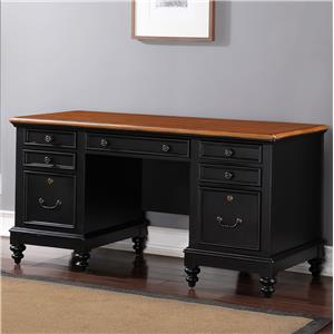 "Winners Only Palm Beach 63"" Flat Top Desk"
