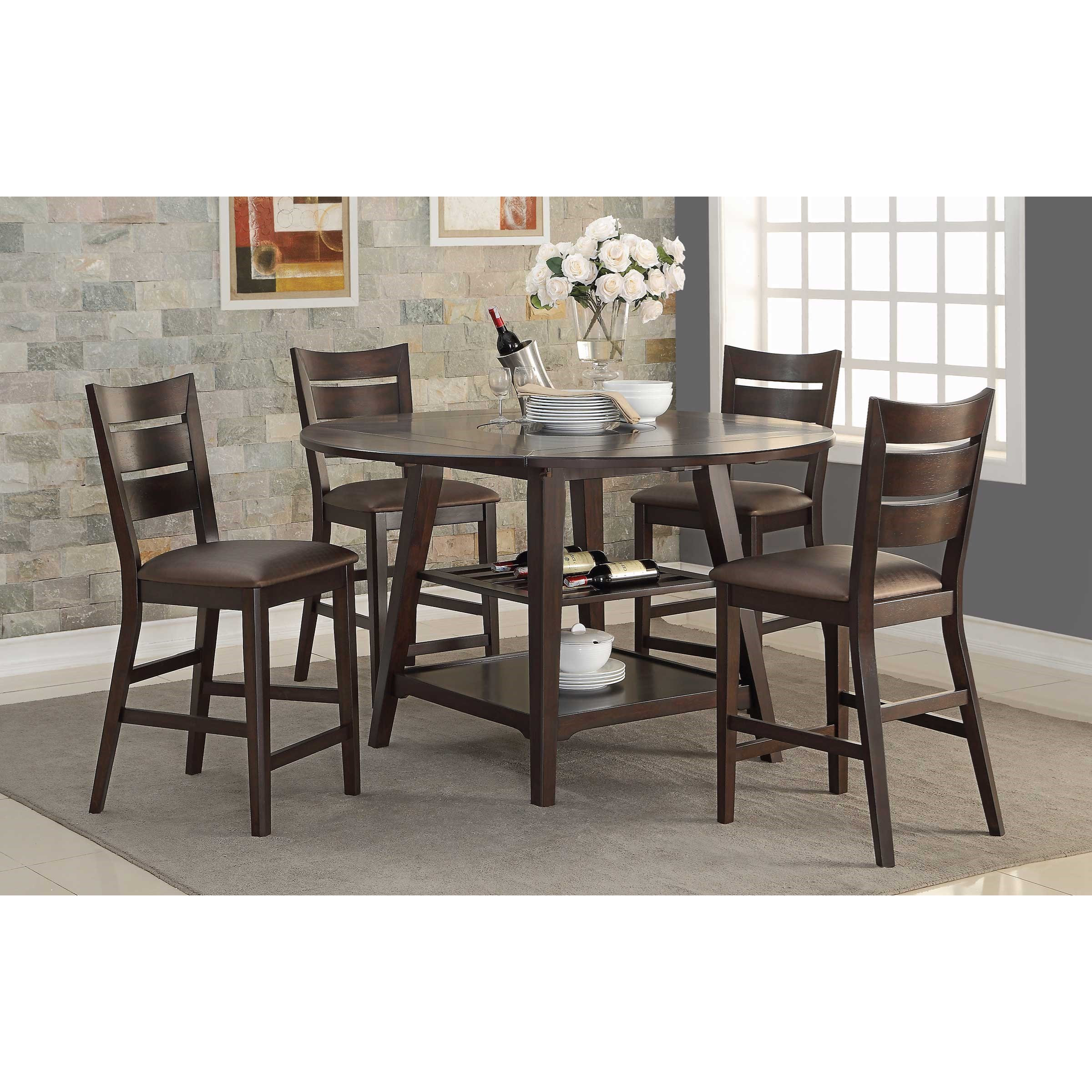 Average Dining Room Table Height: Winners Only Parkside Drop-Leaf Counter Height Table With