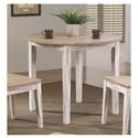 "Winners Only Prescott 38"" Round Table - Item Number: DPR13838"
