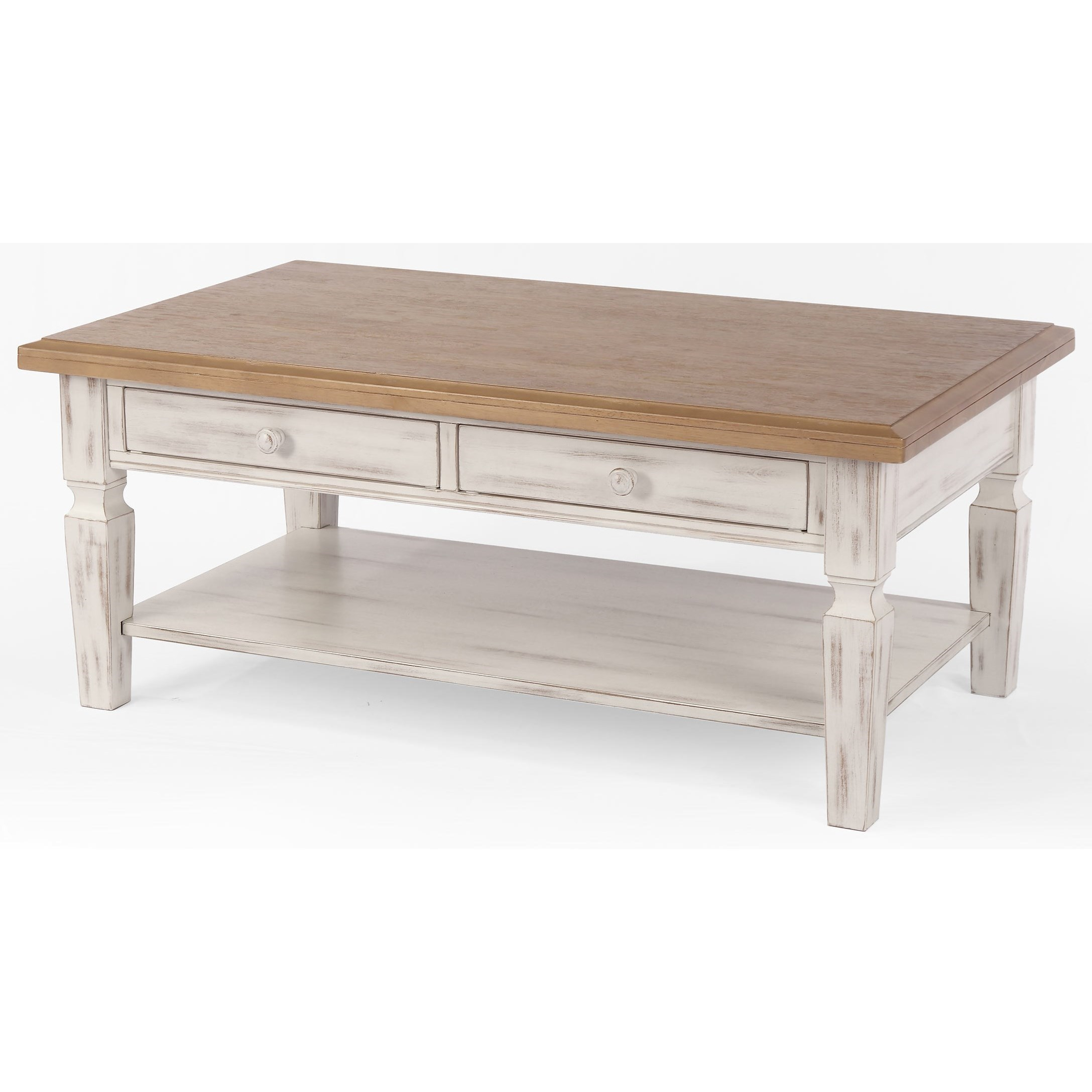 Winners Only Prescott Rustic 48 Coffee Table With 2 Drawers Simply Home By Lindy S Cocktail Coffee Tables