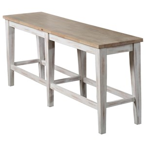 """60"""" Tall Dining Bench"""