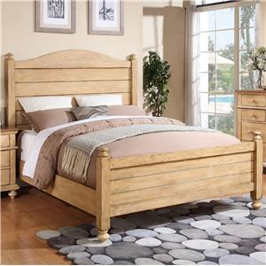 Winners Only Quails Run Queen Panel Bed