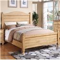Winners Only Quails Run Queen Panel Bed - Item Number: BQW1001Q