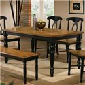 Winners Only Quails Run Leg Table - Item Number: DQ13660AE