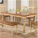 Winners Only Quails Run Leg Table - Item Number: DQ13660W