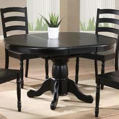 "Winners Only Quails Run 57"" Round Pedestal Table"
