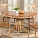 "Winners Only Quails Run 57"" Round Pedestal Table - Item Number: DQ14257W"