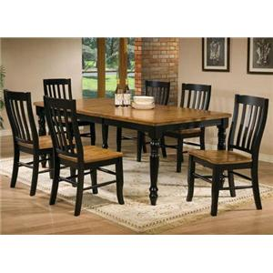 Winners Only Quails Run 5 Piece Table Set