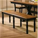 "Winners Only Quails Run 60"" Dining Bench - Item Number: DQ1456AE"