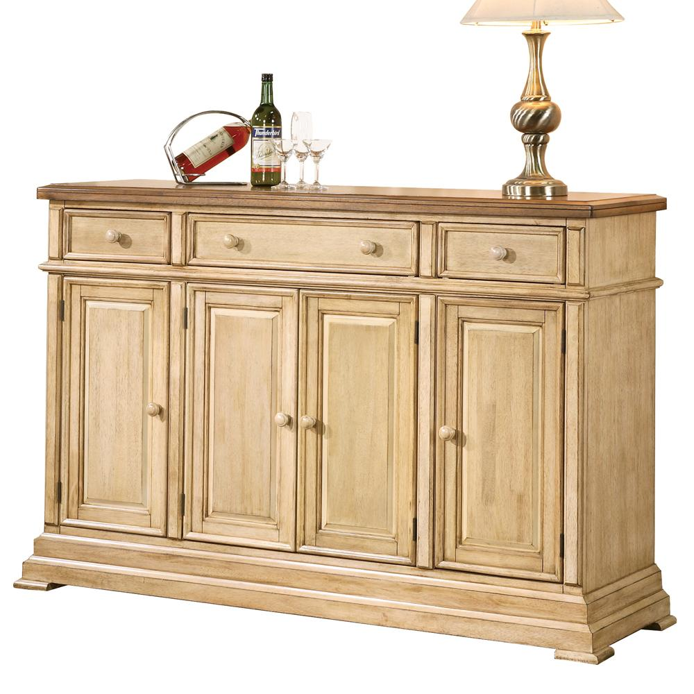 Winners Only Quails Run Dq1470bw Transitional Sideboard