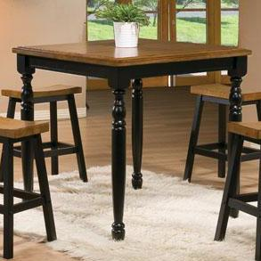 "Winners Only Quails Run 36"" Square Tall Table"