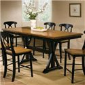 "Winners Only Quails Run 78"" Tall Table - Item Number: DQT13678AE"