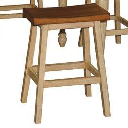 "Winners Only Quails Run 24"" Saddle Barstool"