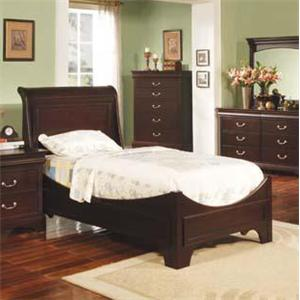 Winners Only Renaissance Twin Sleigh Bed