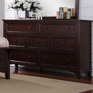 Winners Only Retreat 7-Drawer Dresser