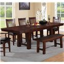 Winners Only Retreat Trestle Table - Item Number: DR142100