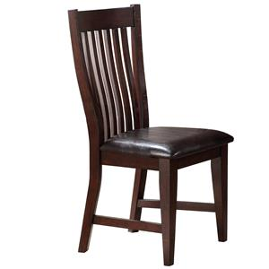 Winners Only Retreat Slat Back Side Chair