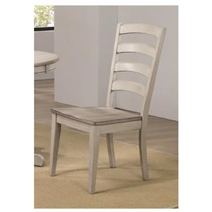 Arched Ladder Back Side Chair