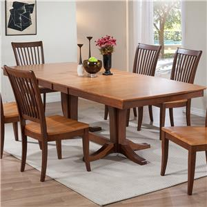 Winners Only Santa Barbara Double Pedestal Dining Table