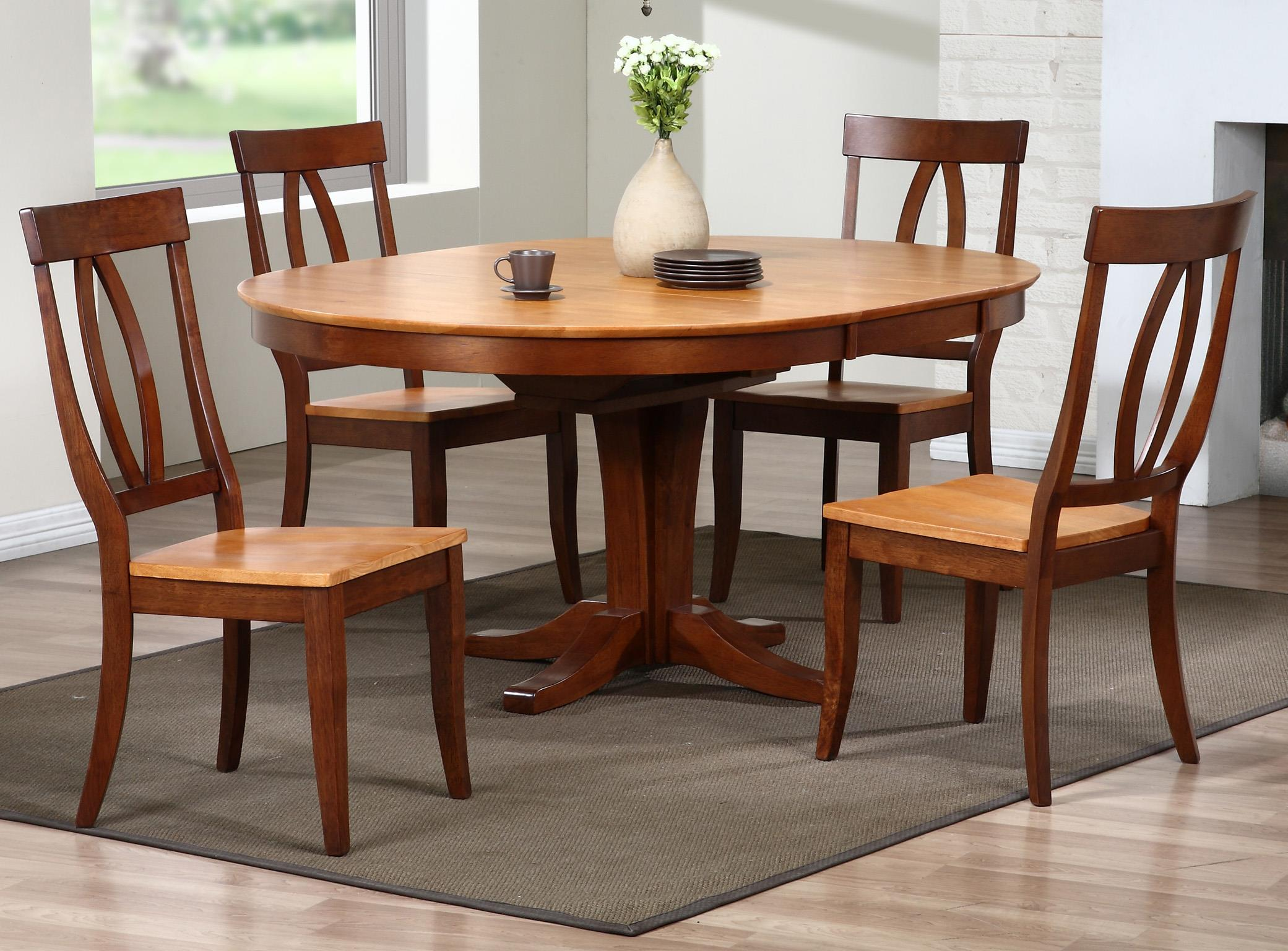Delicieux Winners Only Santa Barbara 5 Piece Dining Set With Keyhole Back Chairs    Item Number: