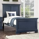 Winners Only Tamarack Twin Panel Bed - Item Number: BTB1001T