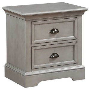 Winners Only Tamarack 2-Drawer Nightstand