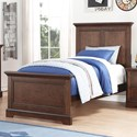 Winners Only Tamarack Twin Panel Bed - Item Number: BTH1001T