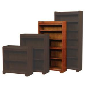 "Winners Only Topaz  60"" Open Bookcase"