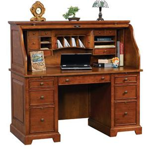 "Winners Only Topaz  57"" Roll Top Desk"