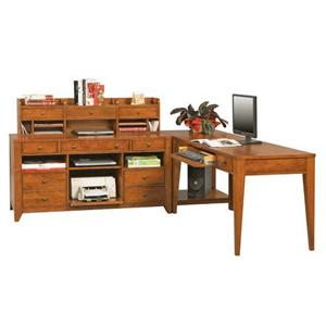 Winners Only Topaz  4 Pc. L-Shaped Desk