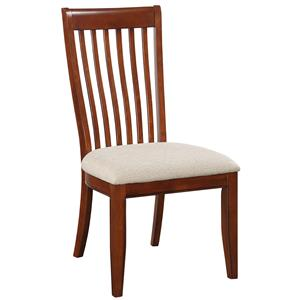 Winners Only Topaz Slat Back Side Chair