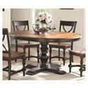 """Winners Only Torrance 66"""" Pedestal Table - Item Number: DT34866SE"""