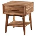 Winners Only Venice Chairside Table - Item Number: AV101E