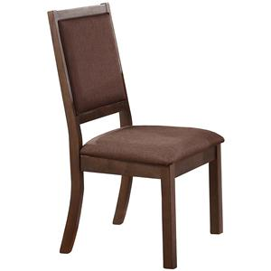 Winners Only Venice Cushioned Back and Seat Side Chair