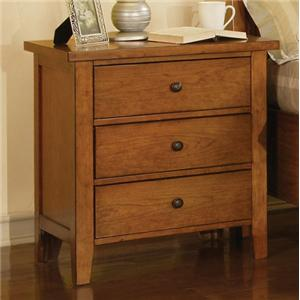 Winners Only Vintage 3-Drawer Night Stand