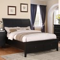 Winners Only Vintage - BV Queen 2-Drawer Storage Bed - Item Number: BVE1001QS