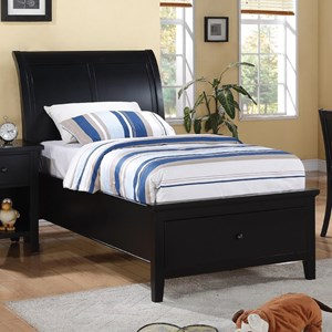 Winners Only Vintage - BV Twin 1-Drawer Storage Bed