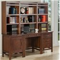 Winners Only Willow Creek Desk and Hutch - Item Number: GW122C+32D+22F2x122+22H