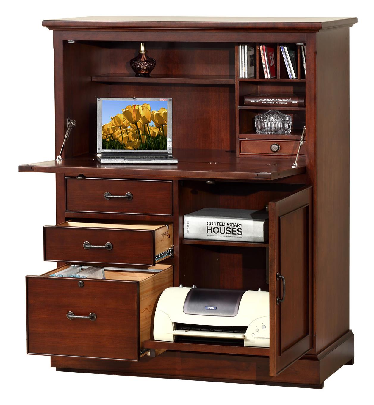 "Winners Only Willow Creek GW140CA 41"" Computer Armoire ..."