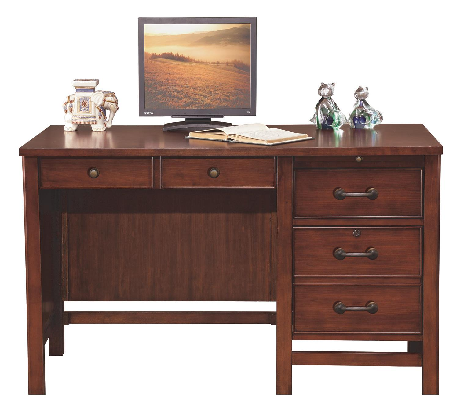 "Where Is Winners Only Furniture Made: Winners Only Willow Creek 48"" Flattop Desk Made Of Cherry"