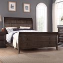 Winners Only Xcalibur California King Sleigh Bed - Item Number: BX1002CK